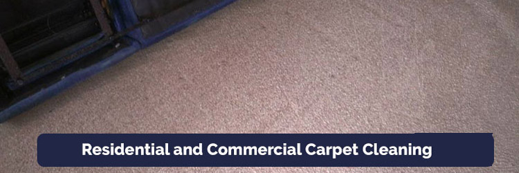 Residential and Commercial Carpet Cleaning in Commissioners Flat