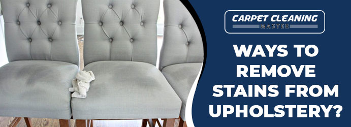 Remove Stains From Upholstery