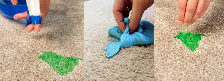 Slime Removal Services from Carpet